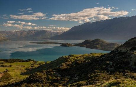 Вид на озеро Вакатипу