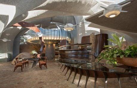 Самые необычные дома мира: Дом Пустыни, интерьер