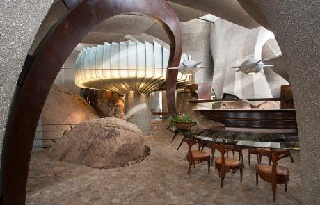 Дом Пустыни, интерьер