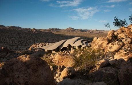 Самые необычные дома мира: Дом Пустыни, экстерьер