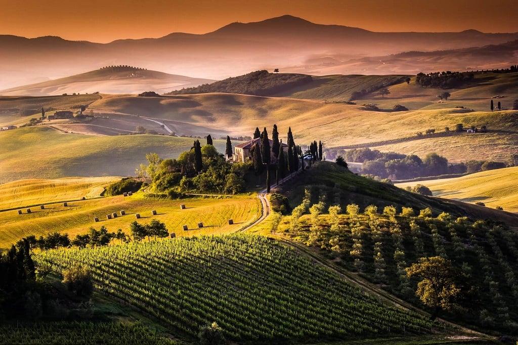 Италия, сельский пейзаж