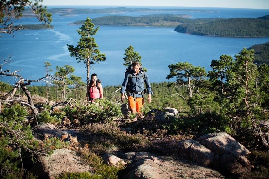 Швеция, горный поход