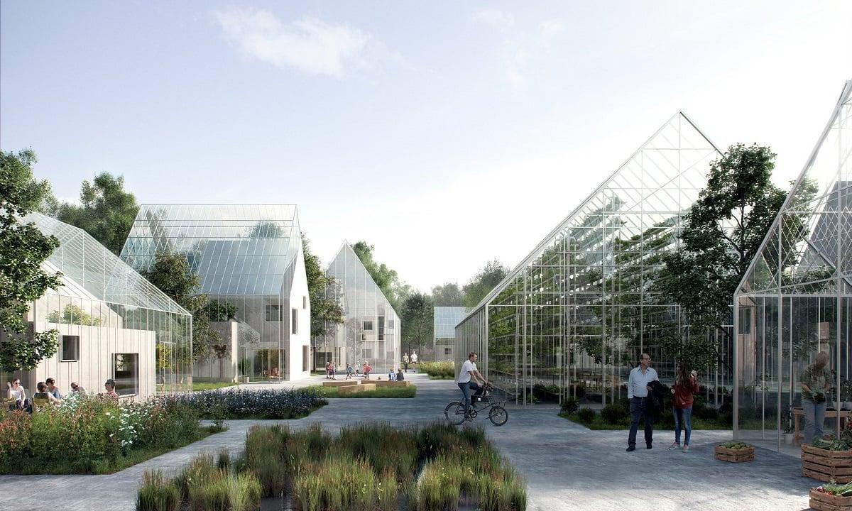 Зеленое строительство: экологическое поселение