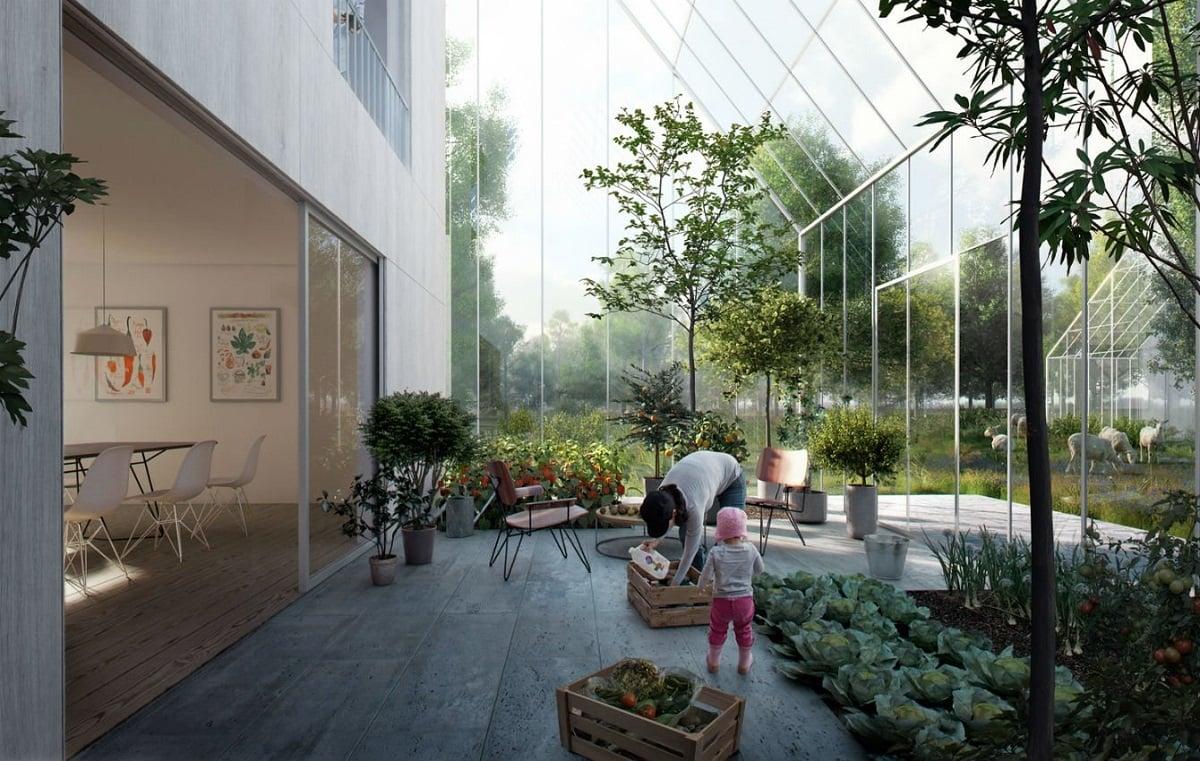 Зеленое строительство: экологический дом