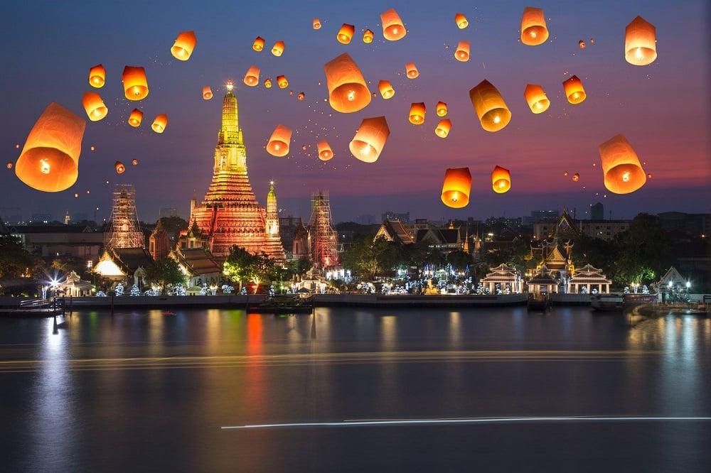 Новости здоровья: глобальные велнес тренды 2019. Летящие бумажные фонари