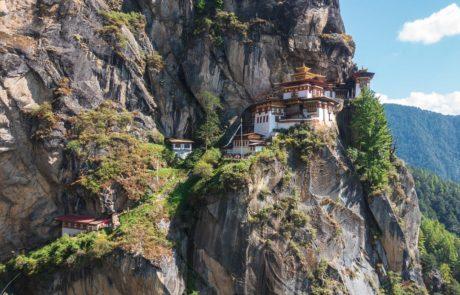 Монастырь Тигриное Гнездо, Бутан