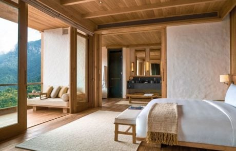 Лоджа Six Senses Thimphu, спальня