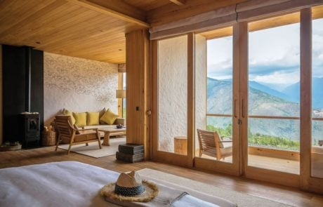 Лоджа Six Senses Thimphu, интерьер