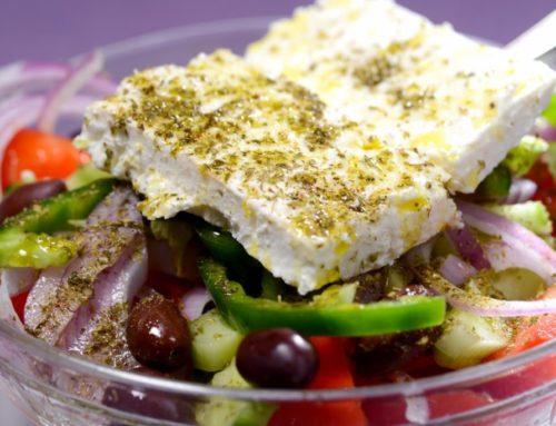 Настоящий греческий салат Хориатики: рецепт, ингредиенты