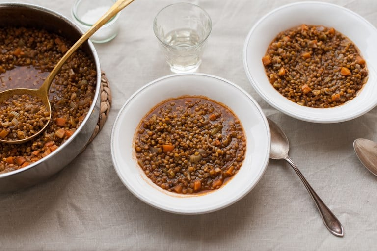 Суп из чечевицы, рецепт средиземноморской кухни
