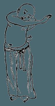 Китайская гимнастика цигун. Ицзиньцзин, девятая форма: Молодой дракон выпускает когти