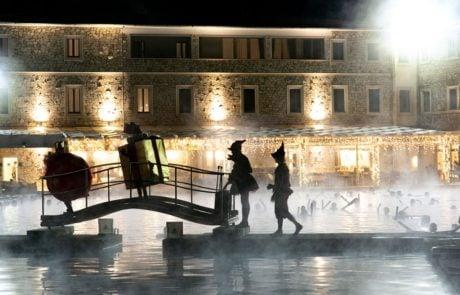 Празднование Нового Года на курорте Термы Сатурнии