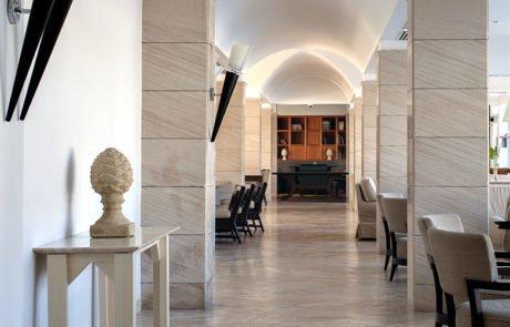Спа-отель Terme di Saturnia, интерьер