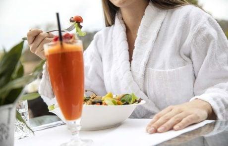 Здоровое питание в барах Bistrot и Patio