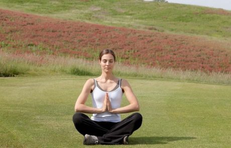 Медитация на гольф поле