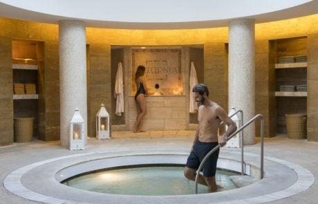 Курорты Италии, Термы сатурнии, римская купальня