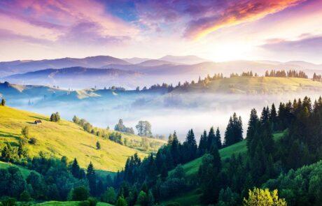 Горы Карпаты, Западная Украина