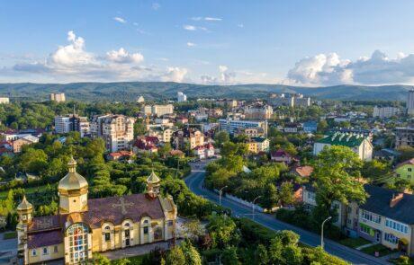 Курортный город Трускавец