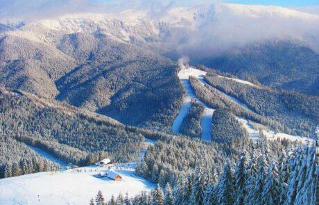 Горнолыжный курорт Буковель, лыжные трассы