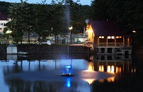 Спа отель Термал Стар, озеро вечером